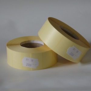 termó címke 32x20 mm etikett címke