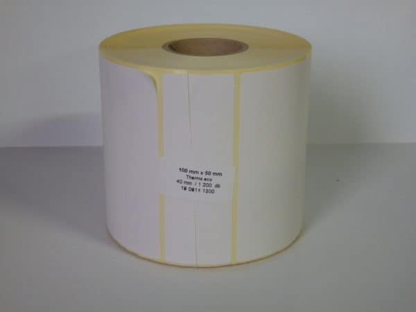 thermal címke 100x50