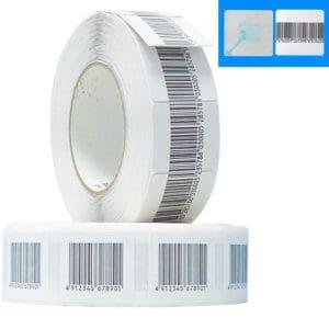 öntapadós áruvédelmi címke lopásgátló címke