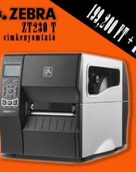 zebra zt230 címkenyomtató vonalkódnyomtató