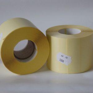 70x40 mm tekercses öntapadó címke