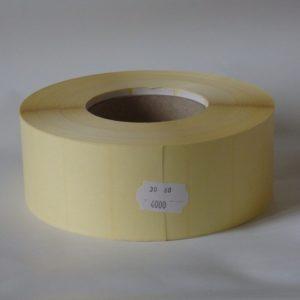 címke 60x30mm