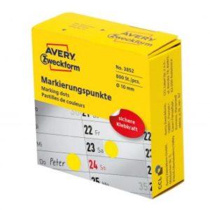 jelölő címke sárga