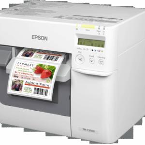epson színes tekercses címke nyomtató