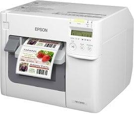 Epson színes etikett nyomtató