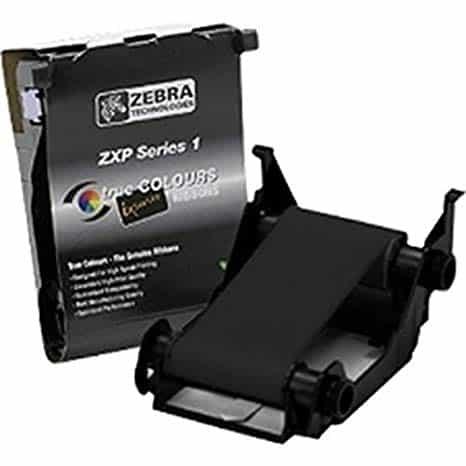 zebra zxp1 fekete festékszalag kártyanyomtató