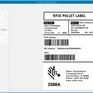 zebra designer címkenyomtató program