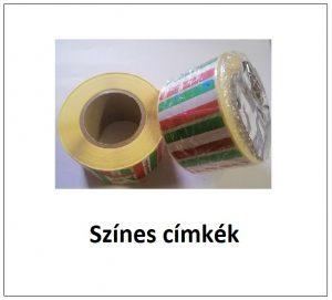 színes címke etikett címke